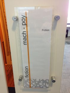 Editable signage ideas --      Katoomba Library - Bayend Signage