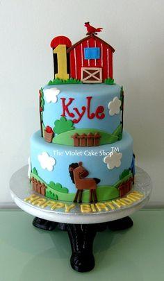 Boys Cakes - The Violet Cake Shop™