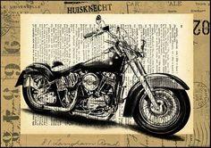 Harley-Davidson Art Prints   Harley Davidson Fine Art Print $11