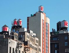 The Water Tank Project – Street Art on the New York's rooftops