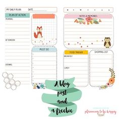 planningtobehappy: A freebie for A5/Large Size planners.  Inspired by Aimee P.  This printable is called Sweet Aimee and it is part of a new collection.  Coming soon to the shop.
