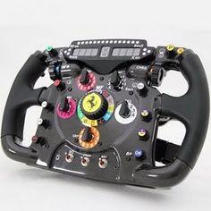 2011 Ferrari 150º Italia Steering Wheel as used by Fernando Alonso and Felipe Massa in the 2011 F1 Championship.