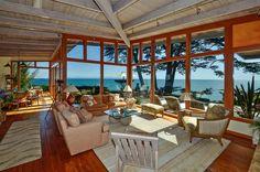 The essence of California coast living Casa de la Contenta. Beachnest Vacation Rentals Santa Cruz, California
