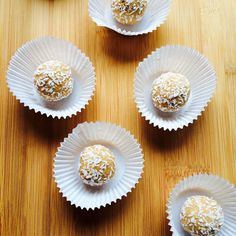 Get the recipe for these raw cookie dough bites and 5 more kinds of healthy cookie dough bites here: http://www.womenshealthmag.com/nutrition/raw-cookie-dough-bites?cm_mmc=pinterest-_-womenshealth-_-content-food-_-healthyrawcookiedough