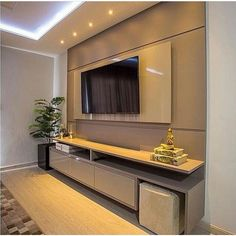TV wall unit Designs is an essential part while designing your living room, Bedroom or tv room. Tv Stand Designs For Living Room have to be. Wall Unit Designs, Living Room Tv Unit Designs, Tv Wall Design, Tv Cabinet Design, Tv Wall Cabinets, Living Room Cabinets, Kitchen Living, Tv Wand Ikea, Armoires Murales Tv
