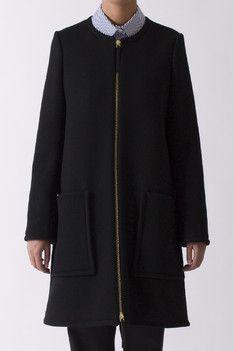 Black Zip Coat | Marni | Envoy of Belfast