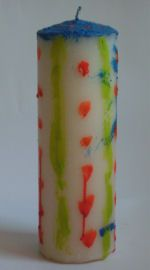 Painted Candle Craft - Pinned by @PediaStaff – Please visit http://ht.ly/63sNt for all (hundreds of) our pediatric therapy pins
