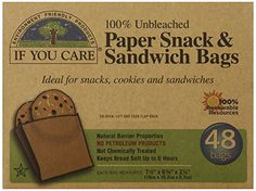 If You Care - Paper Snack & Sandwich Bags 100% Unbleached - 48 Bags If You Care http://www.amazon.com/dp/B003BONV2G/ref=cm_sw_r_pi_dp_vj-2tb0CAADQ4WY5