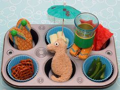 a day at the beach - party food idea
