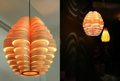 Glow lamp by Passion 4 Wood lighting