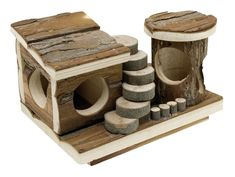 Living World Treehouse Real Wood, Activity Center: Amazon.ca: Pet SuppliesCDN$ 27.89 In Stock. Ships from and sold by Pete's Pet Supplies Limited (Free Shipping). 2 new from CDN$ 16.98 All TreeHouse products are solidly built to endure constant gnawing, nibbling and chewing Chew, exercise and play Design details are meticulously crafted to create natural-looking objects that small pets will enjoy