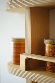 MORCAMBE spice rack. beautiful, made to measure, bespoke, birch ply, CNC routed, lovingly handmade, contemporary, modern home, clean designs  by Andrew McDonald @ www.setyard.co.uk