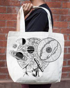 Astronomy Tote Bag - Cognitive Surplus - 1