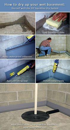 7 best waterproofing basement walls images basement renovations rh pinterest com