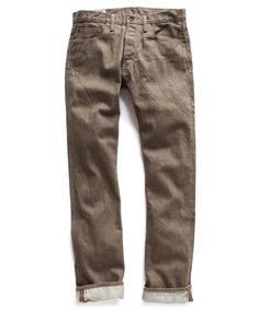 Whiskey Selvage Denim Jeans