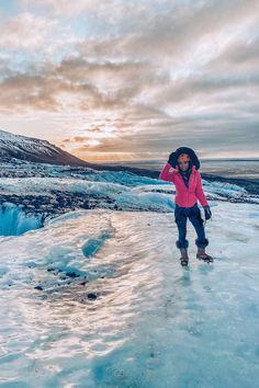 Climbing a glacier in Iceland ** Glacier Climbing | Glacier Iceland | Visit Iceland | Iceland Travel ** #GlacierClimbing #Iceland #VisitIceland #IcelandTravel