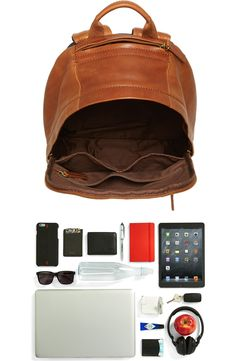 Product Image 4 Backpack Outfit, Fossil, Vintage Fashion, Laptop, Nordstrom, Leather Backpacks, Classic, Bags, Party