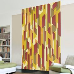 3d Wallpaper Mural, Wallpaper Paste, Vivid Colors, Colours, Standard Wallpaper, Thick Cardboard, Simple Designs, Design Inspiration, Interior