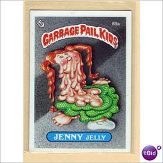 Garbage Pail Kids- Jenny Jelly