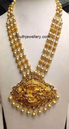 nakshi balls south sea pearls mala