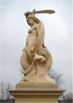Picture Of The Mermaid At The Stanislaw Markiewicz Viaduct