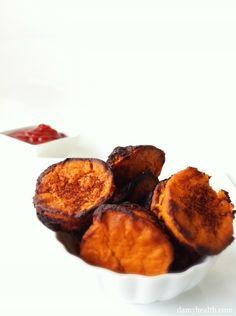 Guilt-Free Sweet Potato Chipotle Tater Tots