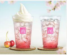 Afbeeldingsresultaat voor mc donalds sakura