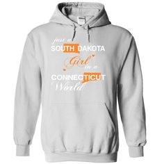 (SDJustCam002) Just A #South Dakota Girl In A Connecticut World, Order HERE ==> https://www.sunfrog.com/Valentines/-28SDJustCam002-29-Just-A-South-Dakota-Girl-In-A-Connecticut-World-White-Hoodie.html?6789, Please tag & share with your friends who would love it , #christmasgifts #renegadelife #jeepsafari  #south dakota hiking, south dakota camping, mount rushmore south dakota  #posters #kids #parenting #men #outdoors #photography #products #quotes