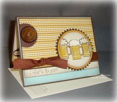 Cheer to You Masculine Bday card