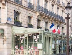 Paris Photography, Laduree French Patisserie, Classic Paris, Parisian, France, Paris print, laudree, kitchen art, mint green and gold decor