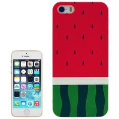 Funda Para iPhone 5 5S Watermelon Melon Cool Funny Retro iPhone 5 5S Case