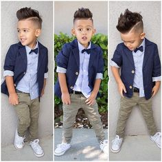 Gentlemen Clothing Set for Boys with Jacket + Shirt + Pants 2-7T (3pcs)