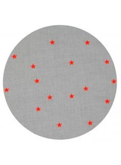 Orange Star Fitted Cot Sheet