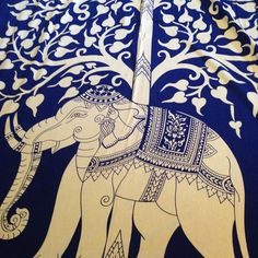 HOLIDAY GIFT ALERT TWIN SIZE ELEPHANT MANDALA Perfect gift for any elephant lover! TWIN SIZE 53x80 inches. Other