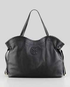 d044bf4d9479 Tory Burch--  Marion East-West Slouchy Tote Bag