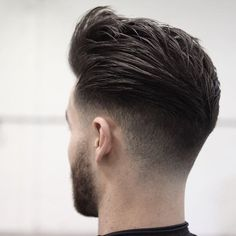 25 Amazing Mens Fade Hairstyles Page 5 of 25 Hairstyles & Haircuts for Men & Women Part 5 is part of Thick hair styles - 25 Awesome pictures of men with the fade hairstyle! Ideas for shaved sides hairstyles Part 5 Mens Hairstyles Fade, Hairstyles Haircuts, Cool Hairstyles, Medium Hairstyles, Wedding Hairstyles, Formal Hairstyles, Haircut Medium, Medium Haircuts, Classic Hairstyles
