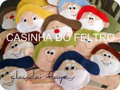 CASINHA DO FELTRO: BRANCA DE NEVE E OS 7 ANÕES