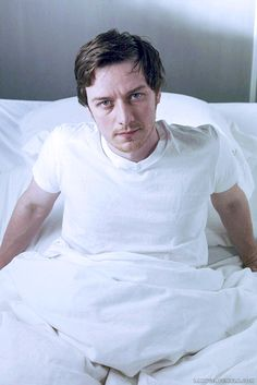 "The photo I took of James McAvoy as I left him.in bed.this morning.(I can dream) --- I'm laughing so hard. I was singing ""do it. Do it do it do it"" (panic at the Disco dancings not a crime) omg James Mcavoy, Glasgow, Scottish Actors, Scottish Man, Charles Xavier, Cherik, Marvel Actors, Film Serie, Michael Fassbender"