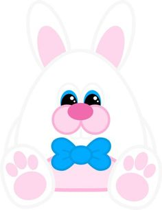 Free printable easter bunny gift tags printable game easter free printable easter bunny paper doll set negle Image collections