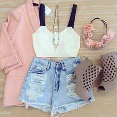Find images and videos about love, fashion and style on We Heart It - the app to get lost in what you love. Cute Fashion, Look Fashion, Teen Fashion, Fashion Outfits, Womens Fashion, Fashion Trends, Looks Style, My Style, Outfit Trends