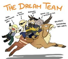 Dragon Age Inquisition: The Dream Team