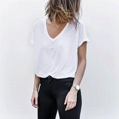 MODERN LEGACY @kaity_modern White tees + blac...Instagram photo | Websta (Webstagram)