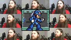 """Spark Mandrill"" from Capcom's Mega Man X for the Super Nintendo Entertainment System (SNES), sung a cappella by Smooth McGroove"