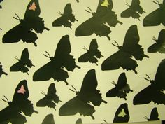 Repeat pattern butterfly