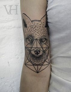 lifeftme: cvntism: nyjahatuatao: Valentin Hirsch Omg i actually wanted a tattoo like this #tattoo patterns #tattoo design