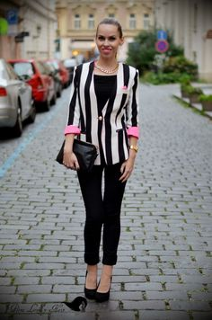 PetraLovelyHair: Mercedes Benz Prague Fashion Weekend - podívejte se se mnou do backstage :) + OOTD Mercedes Benz, Petra, Fashion Inspiration, Ootd, Blazer, Blog, Jackets, Down Jackets, Blazers