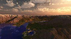 Coastal Mountains Minecraft World Save