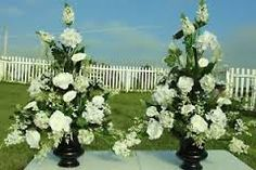 Image result for wedding flowers church