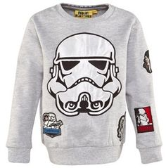 Fabric Flavours Grey Marl Stormtrooper Sweater