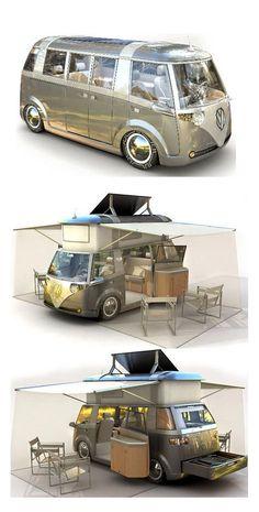 Cool Volkswagen Volkswagen Microbus concept… キャンプ Check more at… – Latest Car Pictures Volkswagen Bus, Vw T5, Vw Camper, Combi Hippie, Kombi Trailer, Vans Vw, Vw California Beach, Vw Minibus, Combi T1